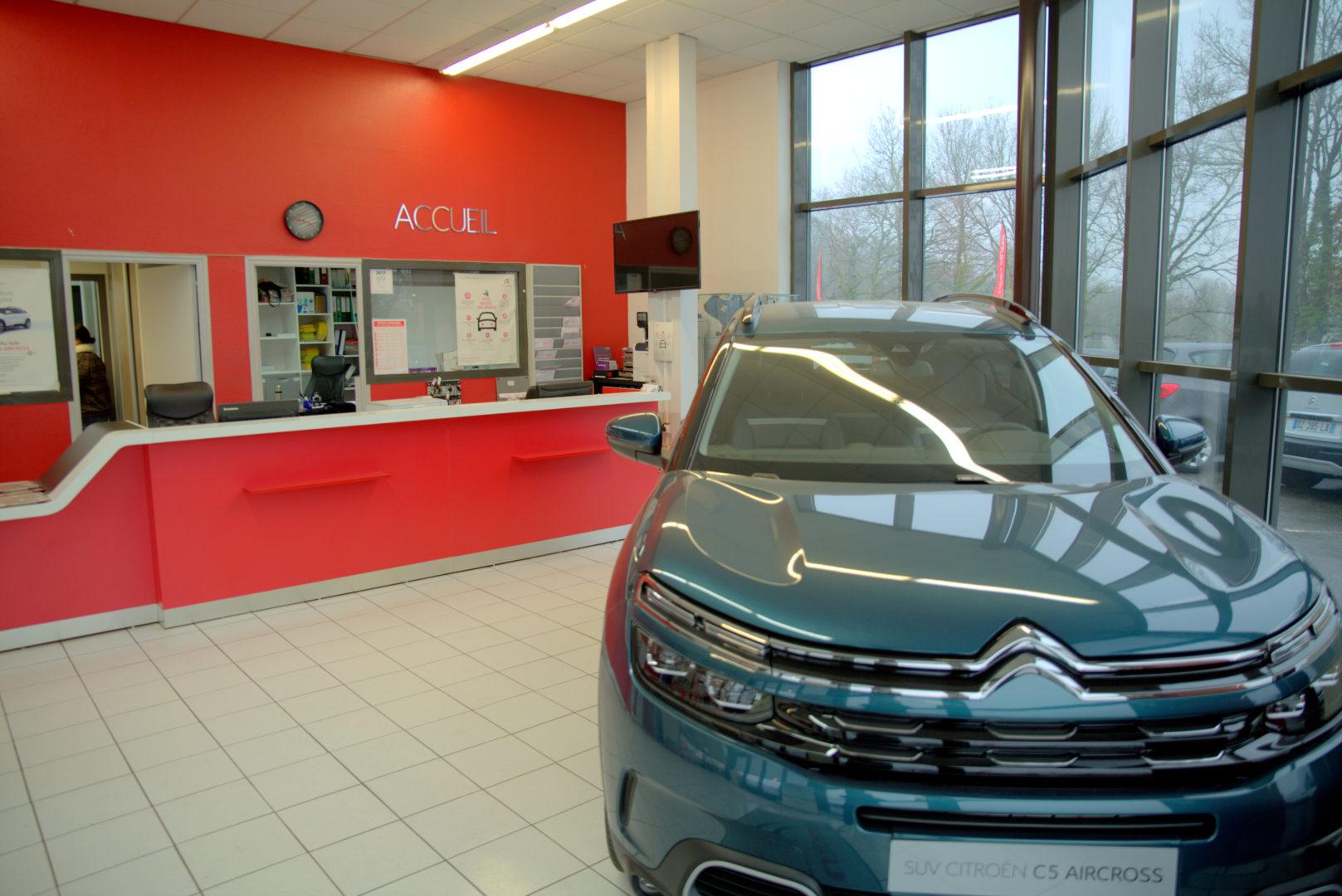 Accueil Garage Citroën Quimper 2 - Carrosserie