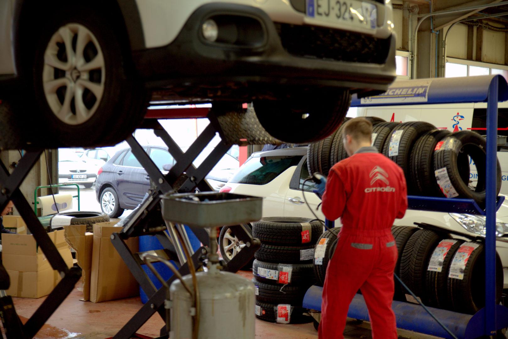 Entretien Réparation Garage Citroën Quimper 14 - Entretien et réparation