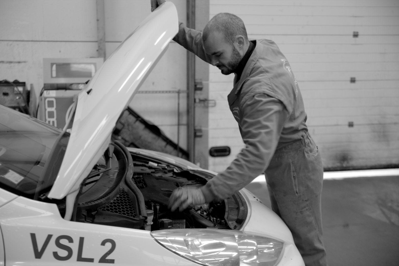 Entretien Réparation Garage Citroën Quimper nb - Accueil
