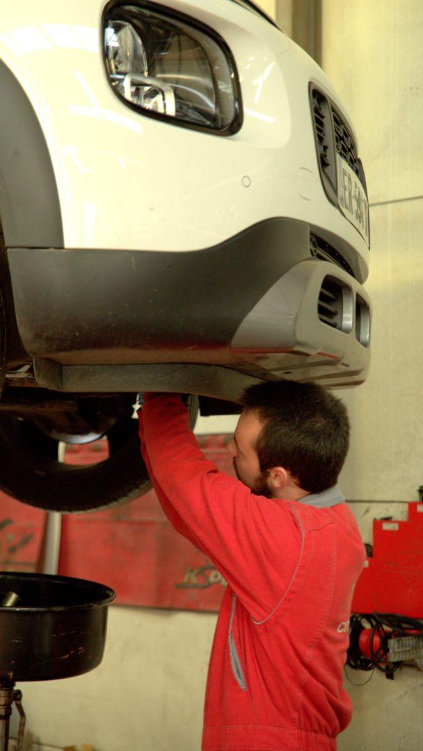 Entretien Réparation Garage Citroën Quimper - Accueil
