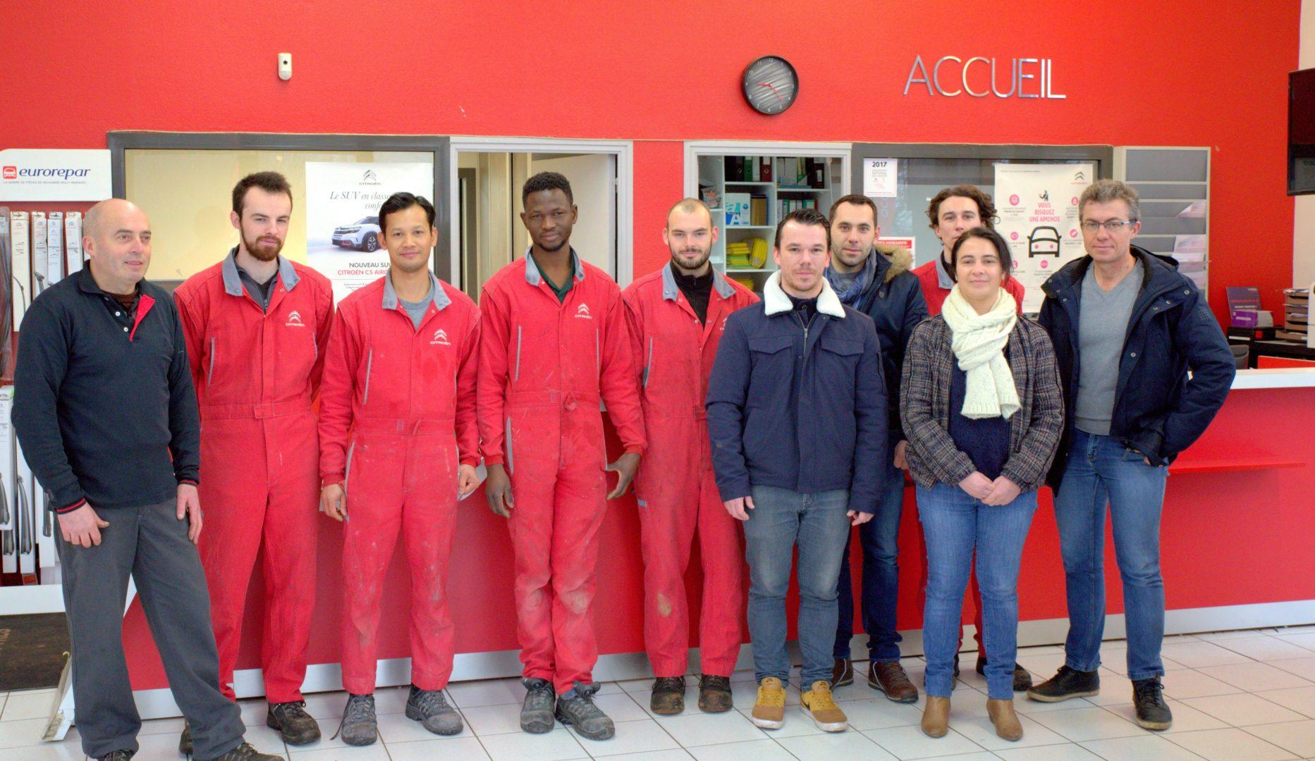 Equipe Garage Citroën Quimper1 - Accueil